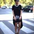 Famous fashion blogger famous for its stylish and