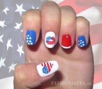 Fourth of July Nail Art Designs | Fashionisers