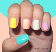 fun summer nail art design