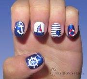 fun summer nail art design