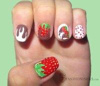 20 Fun Summer Nail Art Designs | Fashionisers