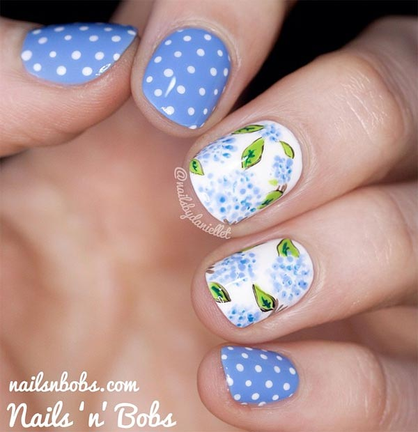 101 Cly Nail Art Designs For Short Nails Fashionisers