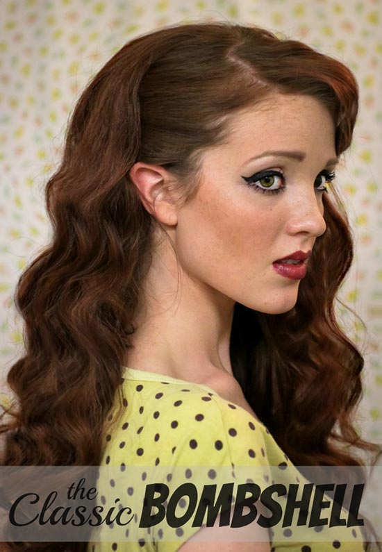 DIY Vintage Hairstyles: Pin-Up Retro Hairstyle Tutorial