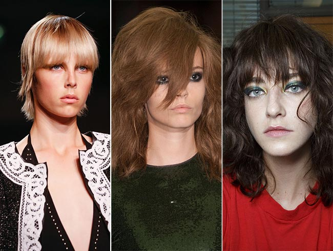 Spring/ Summer 2015 Hairstyle Trends: Hairstyles with Bangs