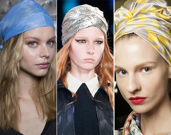 Spring/ Summer 2015 Headwear Trends: Bandanas, Turbans and Headscarves