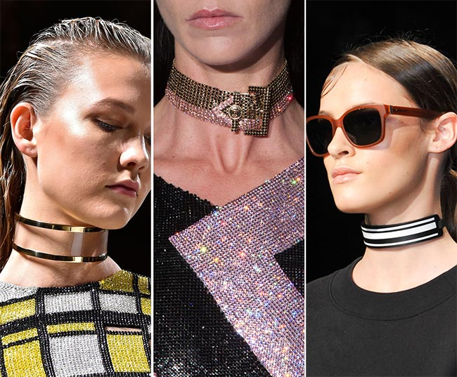 Spring/ Summer 2015 Jewelry Trends: Chokers