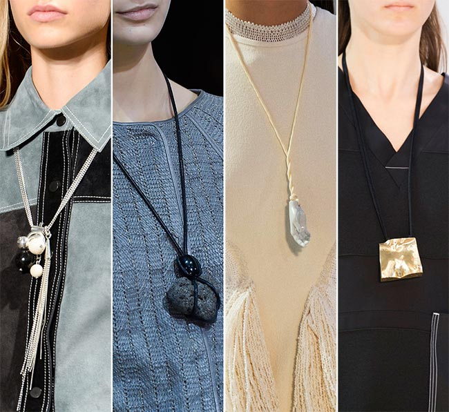 Spring/ Summer 2015 Jewelry Trends: Relic Pendants