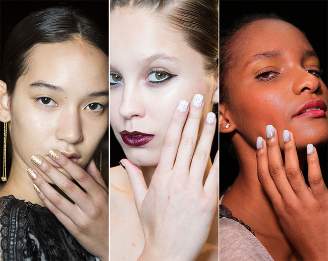 Spring/ Summer 2015 Nail Trends: Geometric Nails
