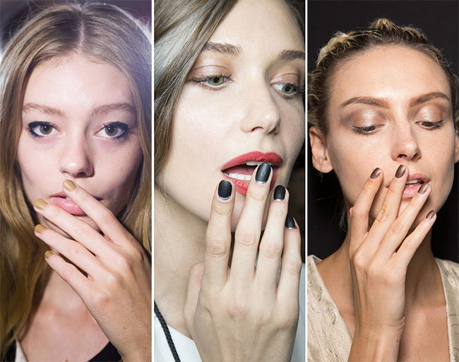 Spring/ Summer 2015 Nail Trends: Matte Nails