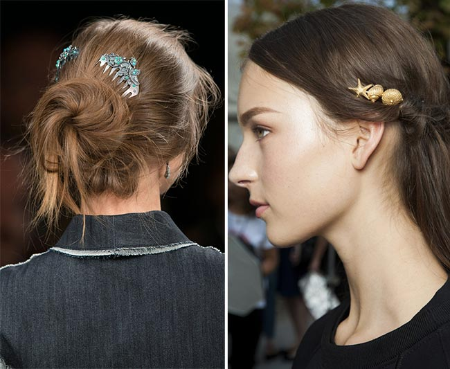 Spring/ Summer 2015 Runway Beauty Trends: Hair Accessories