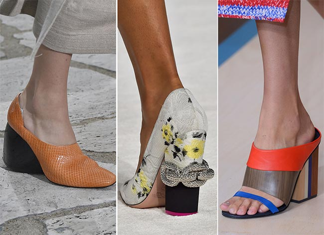 Spring/ Summer 2015 Shoe Trends: Chunky Heels
