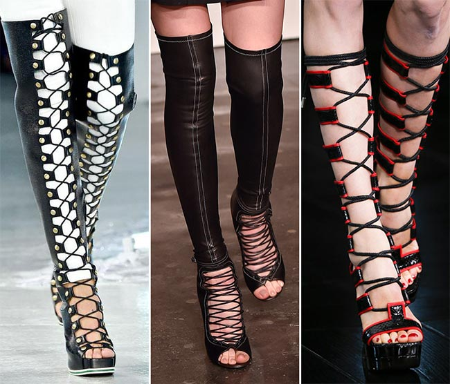 Spring/ Summer 2015 Shoe Trends: Lace-Up Shoes