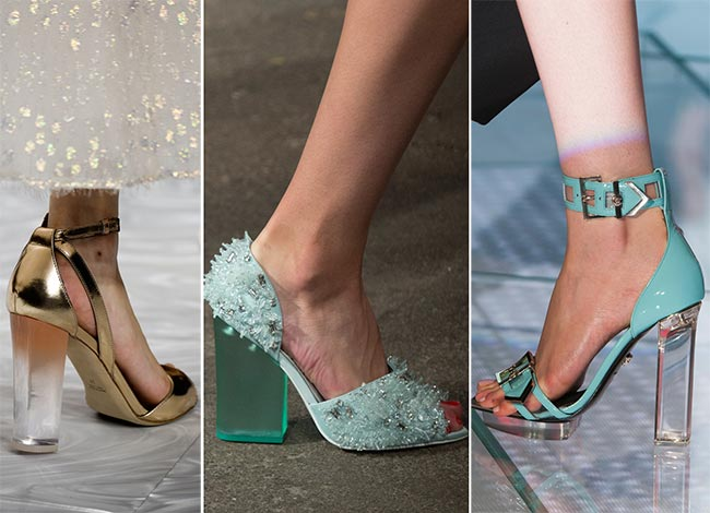 Spring/ Summer 2015 Shoe Trends: Shoes with Transparent Heels