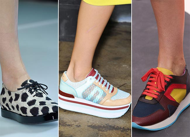 Spring/ Summer 2015 Shoe Trends: Sporty Shoes