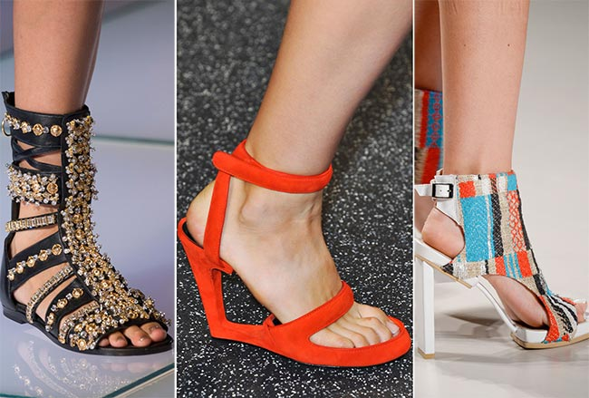 Spring/ Summer 2015 Shoe Trends: Unusual Shoes