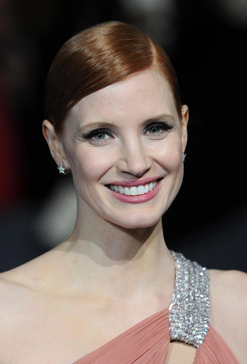 Strawberry Blonde Hair Colors: Jessica Chastain