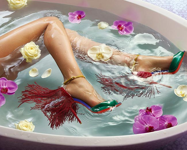 Christian Louboutin Shoes Spring 2015 Campaign
