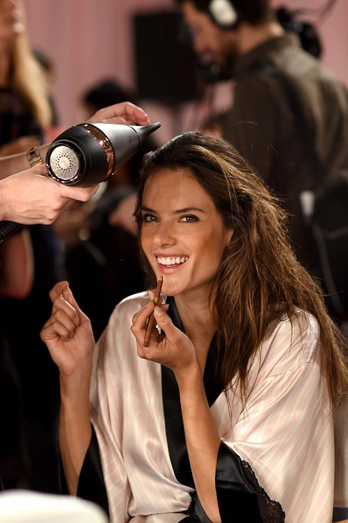 Backstage at Victoria's Secret Fashion Show 2014-2015