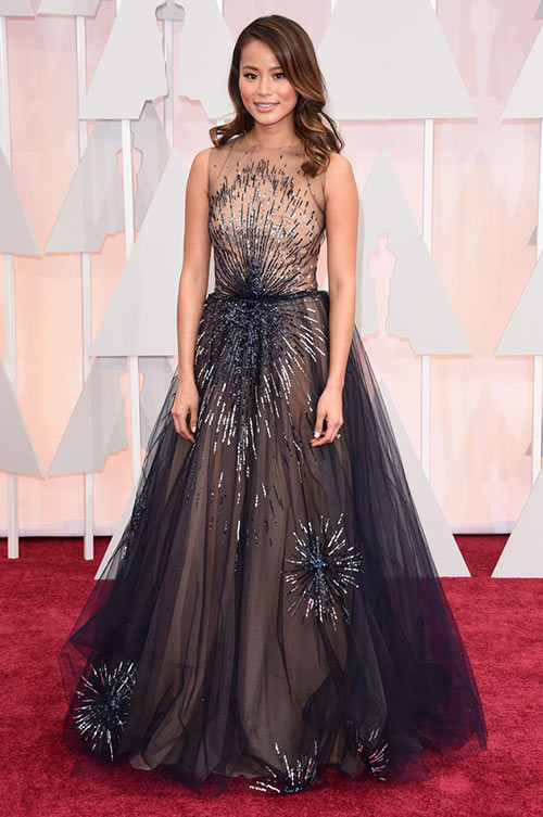 2015 Oscars Red Carpet Fashion: Jamie Chung