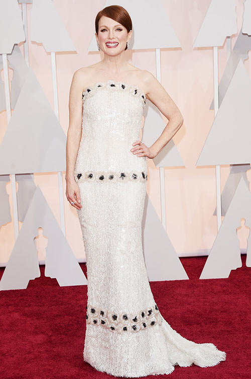2015 Oscars Red Carpet Fashion: Julianne Moore