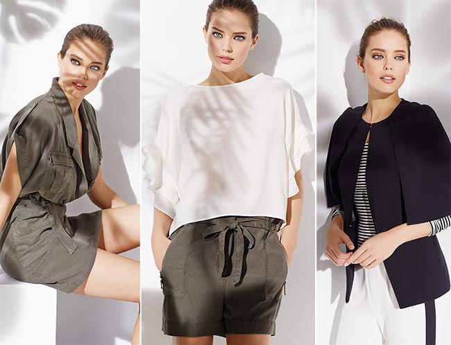 Emily DiDonato for SuiteBlanco Spring/Summer 2015 Campaign
