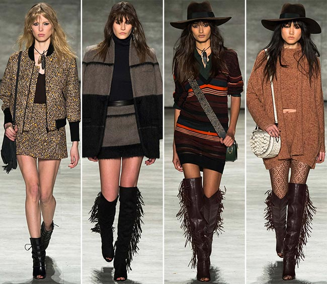 Rebecca Minkoff Fall/Winter 2015-2016 Collection - New York Fashion Week
