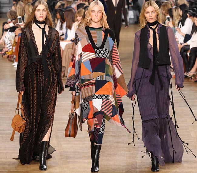 Chloe Fall/Winter 2015-2016 Collection - Paris Fashion Week
