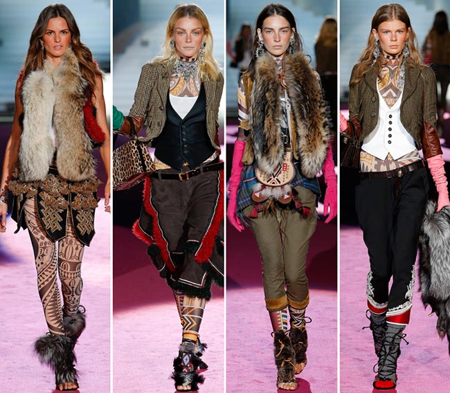 Dsquared2 Fall/Winter 2015-2016 Collection - Milan Fashion Week