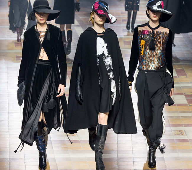 Lanvin Fall/Winter 2015-2016 Collection - Paris Fashion Week
