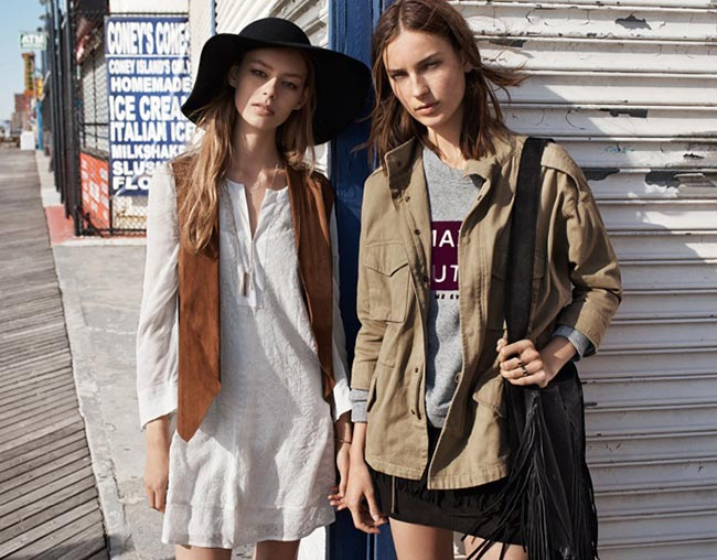 Mango's '70s Inspired Festival 2015 Lookbook