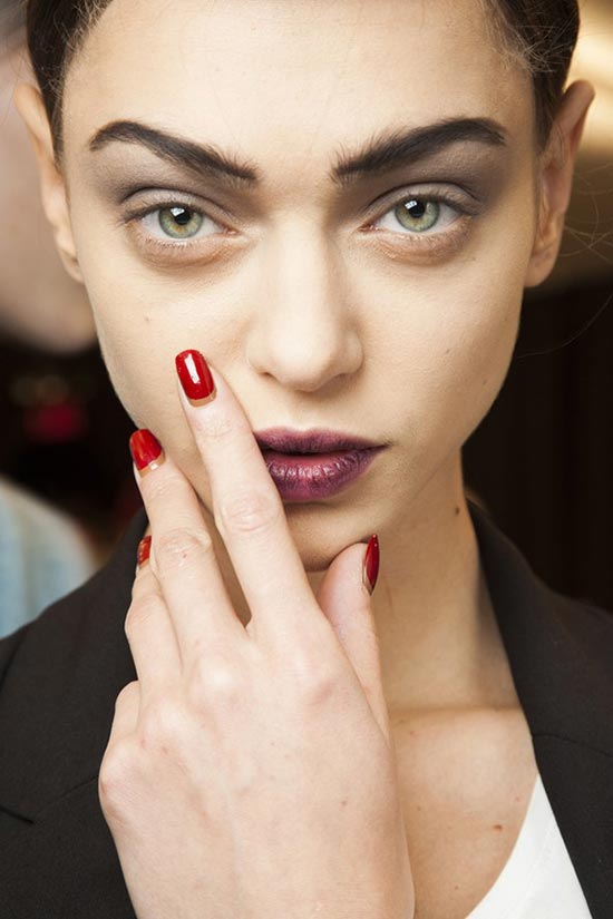 6 Beauty Fails That Have Turned Into Trends: Lived-In Lipstick