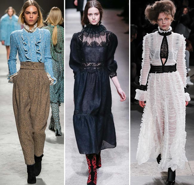 Fall/ Winter 2015-2016 Fashion Trends: Victorian and Edwardian Fashion