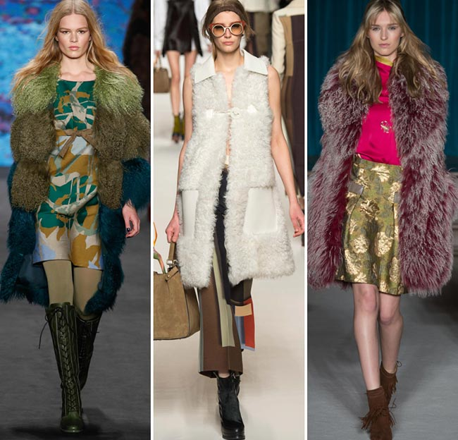 Fall/ Winter 2015-2016 Fashion Trends: Mongolian Fur