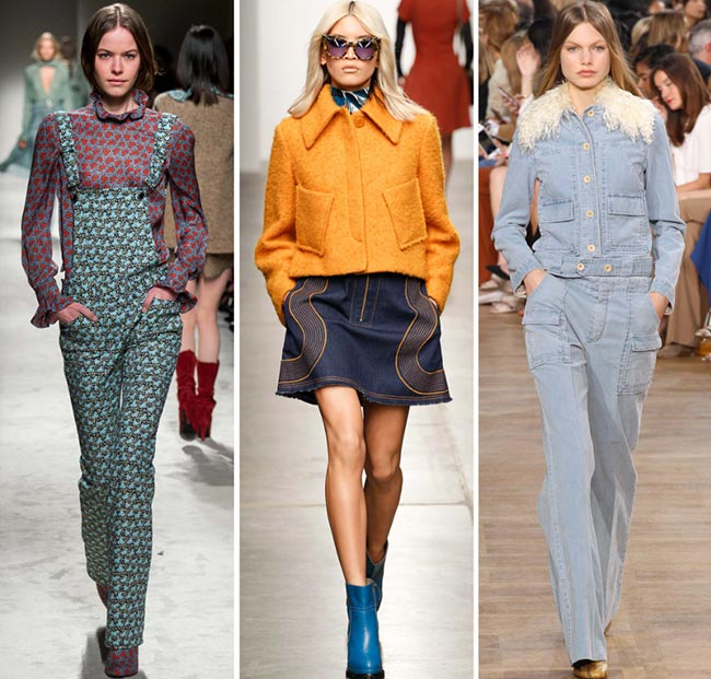 Fall/ Winter 2015-2016 Fashion Trends: 1970s Fashion