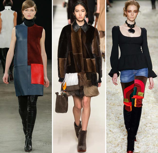 Fall/ Winter 2015-2016 Fashion Trends: Patchwork