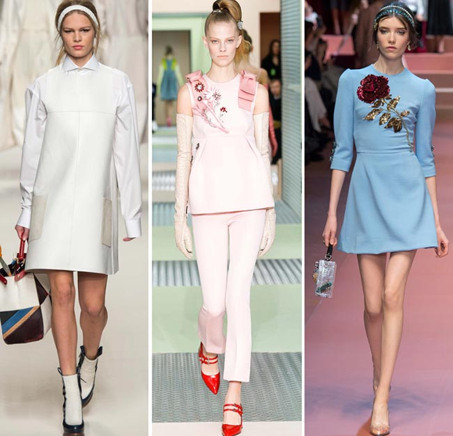 Fall/ Winter 2015-2016 Fashion Trends: 1960s Fashion
