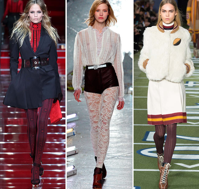 Fall/ Winter 2015-2016 Fashion Trends: Tights