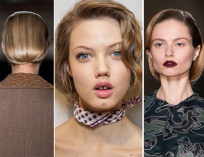 Fall/ Winter 2015-2016 Hairstyle Trends: Faux Bob Hairstyles