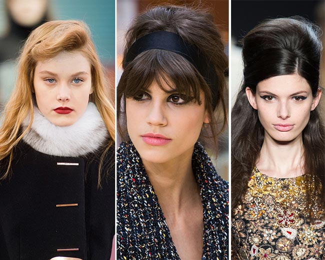 Fall/ Winter 2015-2016 Hairstyle Trends: '60s Bouffants