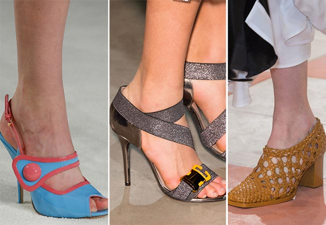 Fall/ Winter 2015-2016 Shoe Trends: Summer-Ready Open Shoes