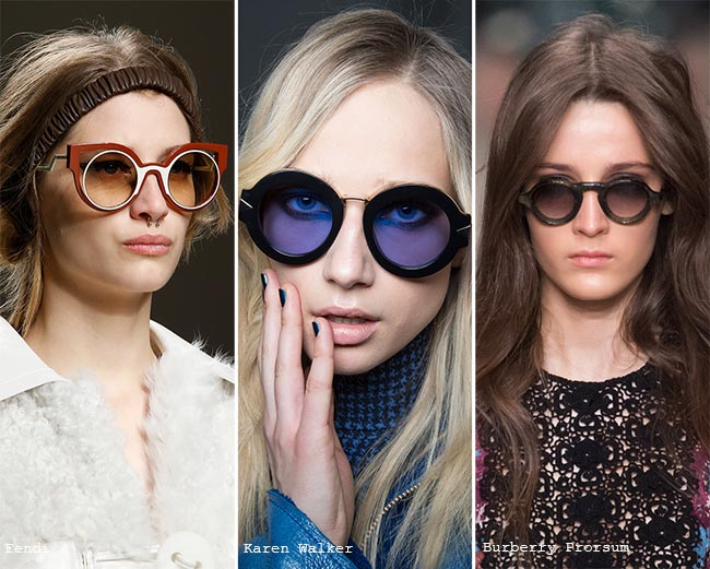 Fall/ Winter 2015-2016 Eyewear Trends: Round Sunglasses