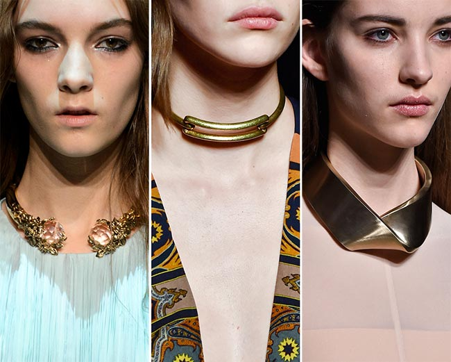 Fall/ Winter 2015-2016 Jewelry Trends: Chokers