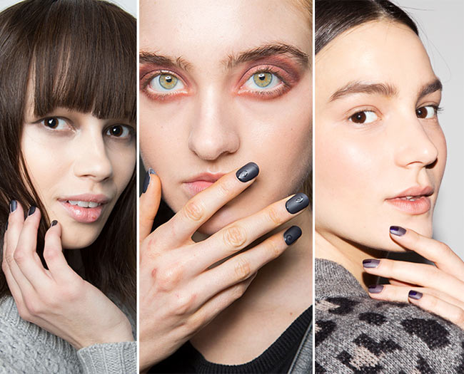 Fall/ Winter 2015-2016 Nail Trends: Matte Nail Polish