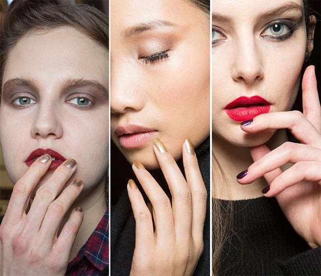 Fall/ Winter 2015-2016 Nail Trends: Metallic and Jewel Nail Polish Colors