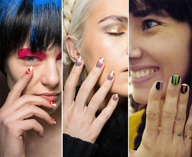 Fall/ Winter 2015-2016 Nail Trends: Sunset Nail Polish Colors