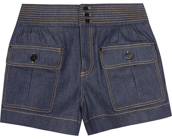 Summer 2015 Trendy Denim Shorts: Chloe Denim Shorts
