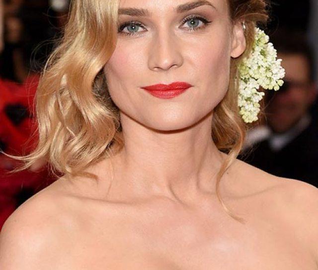 Met Gala  Hairstyles Makeup Diane Kruger