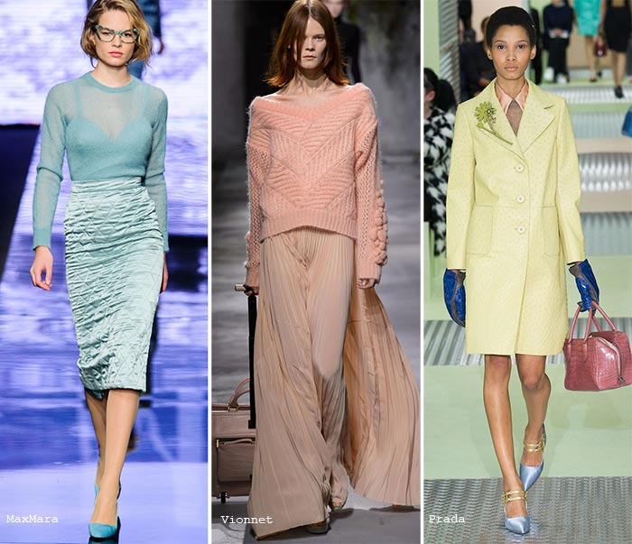 Fall 2015 Trend of Pastel Colors: Texture