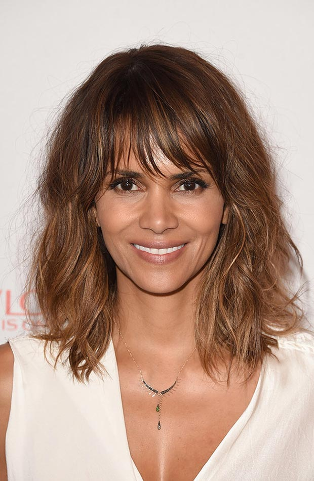wedding guest hairstyles for summer, Halle Berry