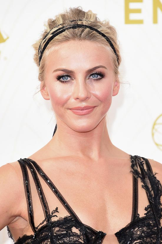 Emmy Awards 2015 Celebrity Hairstyles and Beauty: Julianne Hough